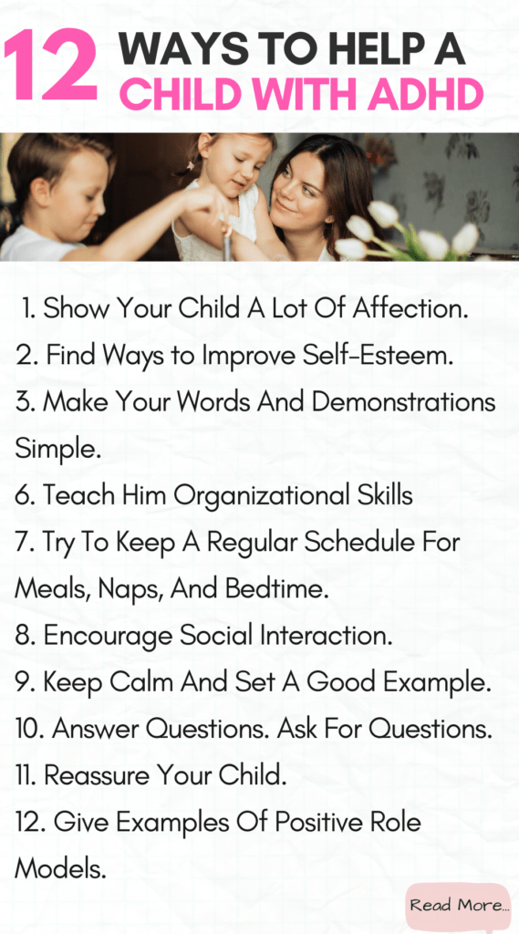 ADHD In Children: 21 Ways to Deal With ADHD without medication