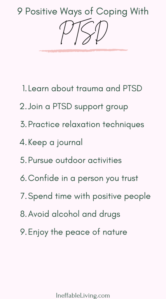 Managing PTSD: Positive Ways of coping with PTSD