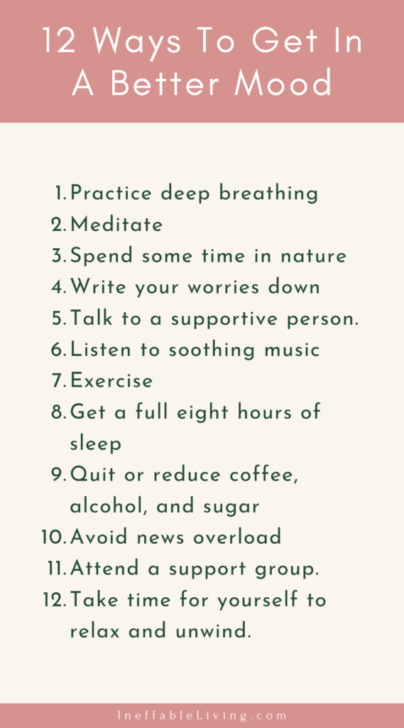 12 Ways To Get In A Better Mood (Mental Health Awareness Month