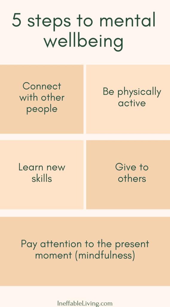 5 steps to mental wellness
