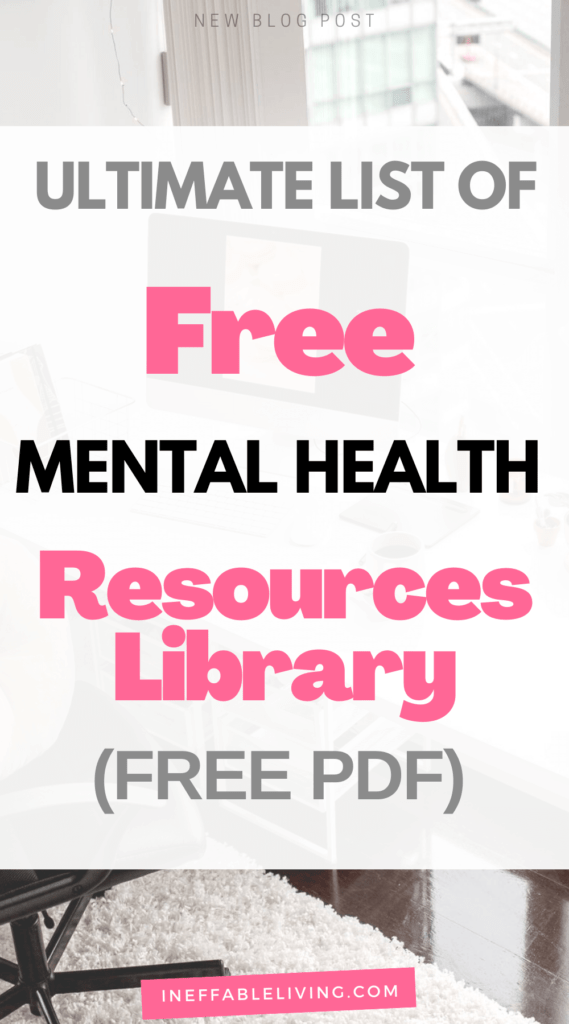 free mental health resources library free pdf