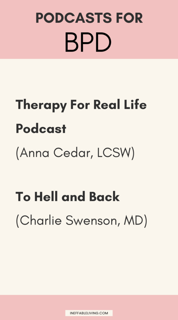 Podcasts for BPD