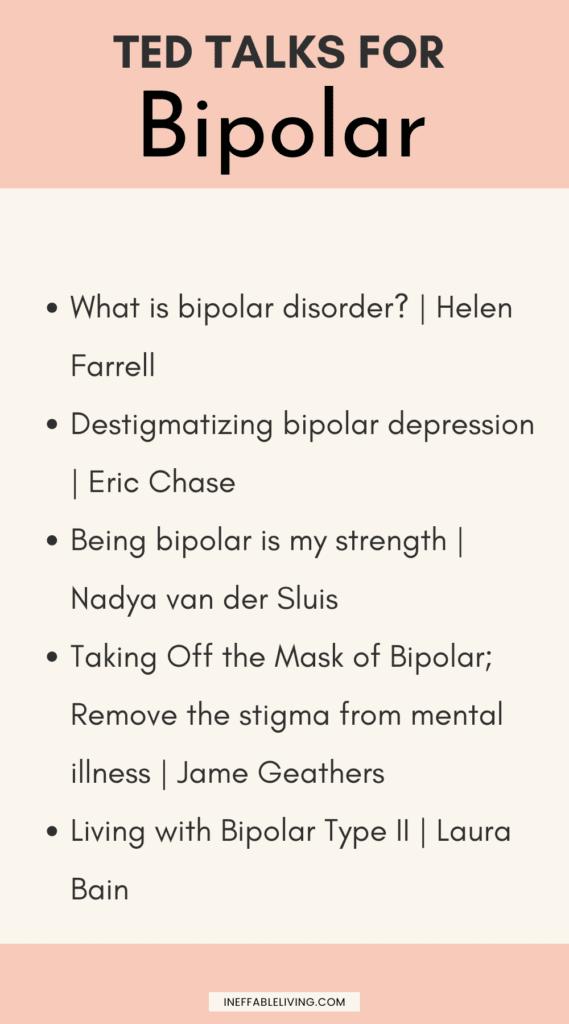 TED Talks for Bipolar