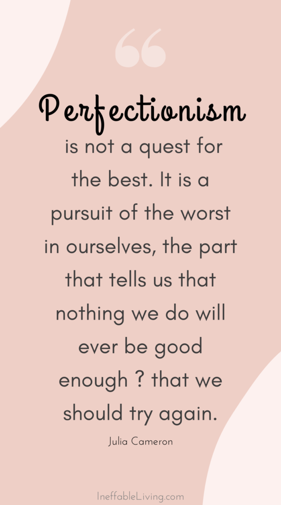 perfectionism quotes (5)