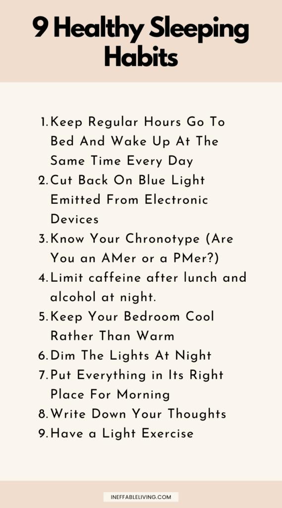 healthy sleeping habits (4)